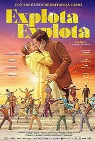 Ingrid García Jonsson and Fernando Guallar in Explota Explota (2020)