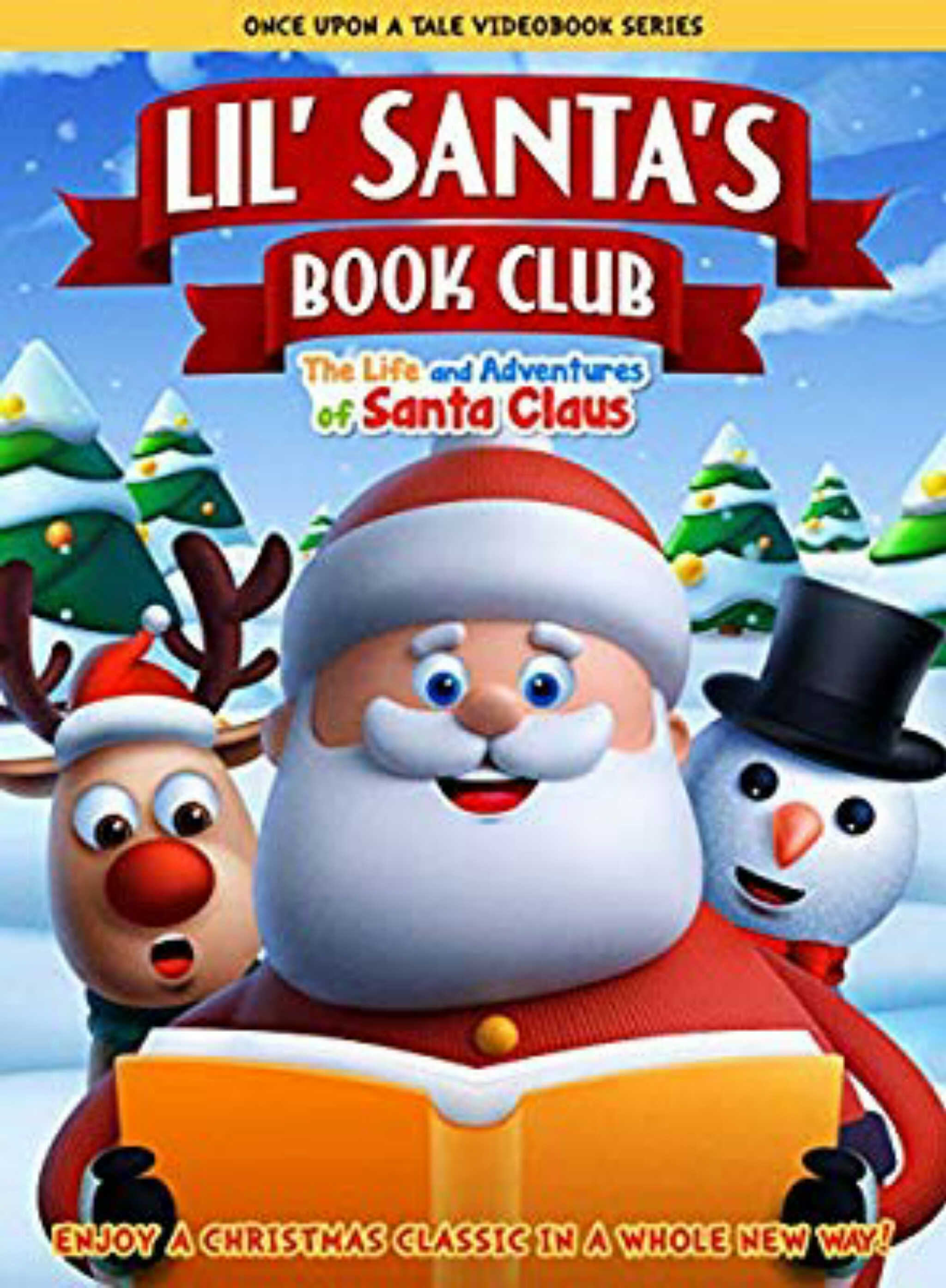 Lil' Santa's Book Club: The Life and Adventures of Santa Claus on FREECABLE TV