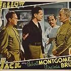 C. Henry Gordon, Henry Hull, Robert Montgomery, Frank Puglia, Stanley Ridges, and Lewis Stone in Yellow Jack (1938)