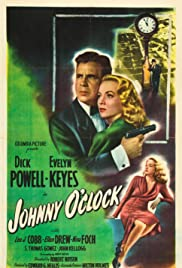 Johnny O'Clock (1947) Poster - Movie Forum, Cast, Reviews