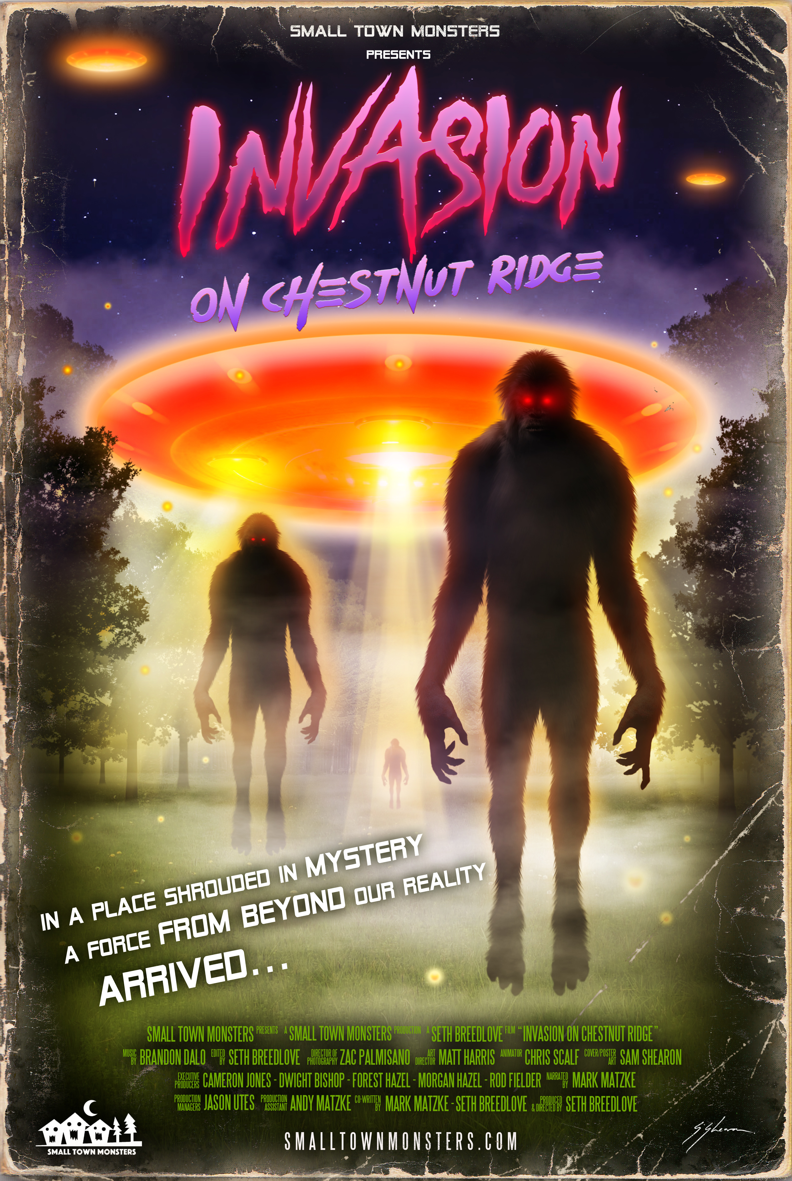 Invasion on Chestnut Ridge (2017) - IMDb