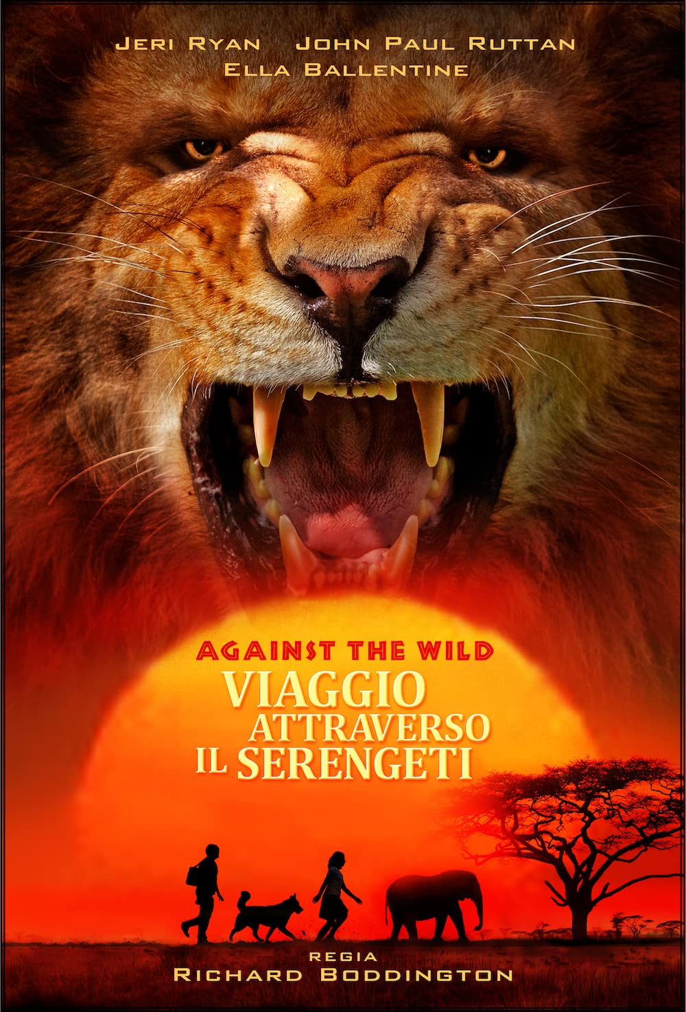 Against the Wild 2: Survive the Serengeti (2016) Hindi Dubbed