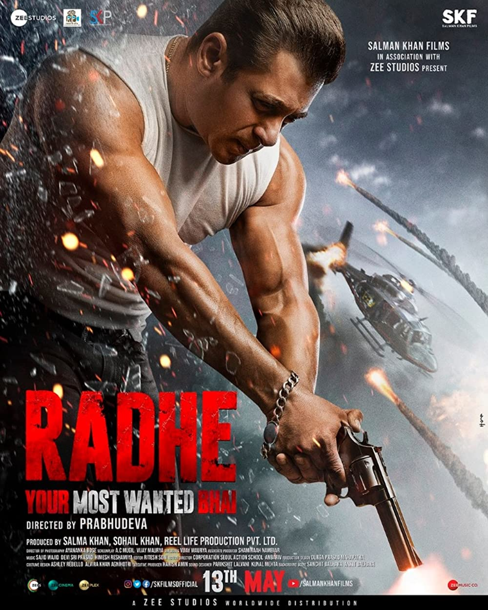 Radhe: Your Most Wanted Bhai 2021 Hindi Movie Official Trailer 1080p HDRip 70MB Download