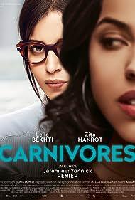 Zita Hanrot and Leïla Bekhti in Carnivores (2018)