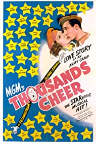 Gene Kelly and Kathryn Grayson in Thousands Cheer (1943)