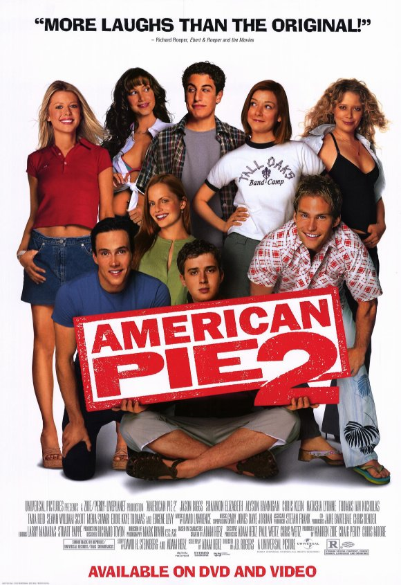 18+ American Pie 2 (2001) Hindi Dual Audio 720p UNRATED BluRay ESub 844MB Download