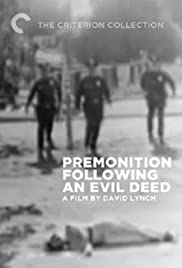 Premonition Following an Evil Deed Poster