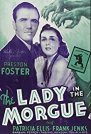 The Lady in the Morgue Poster