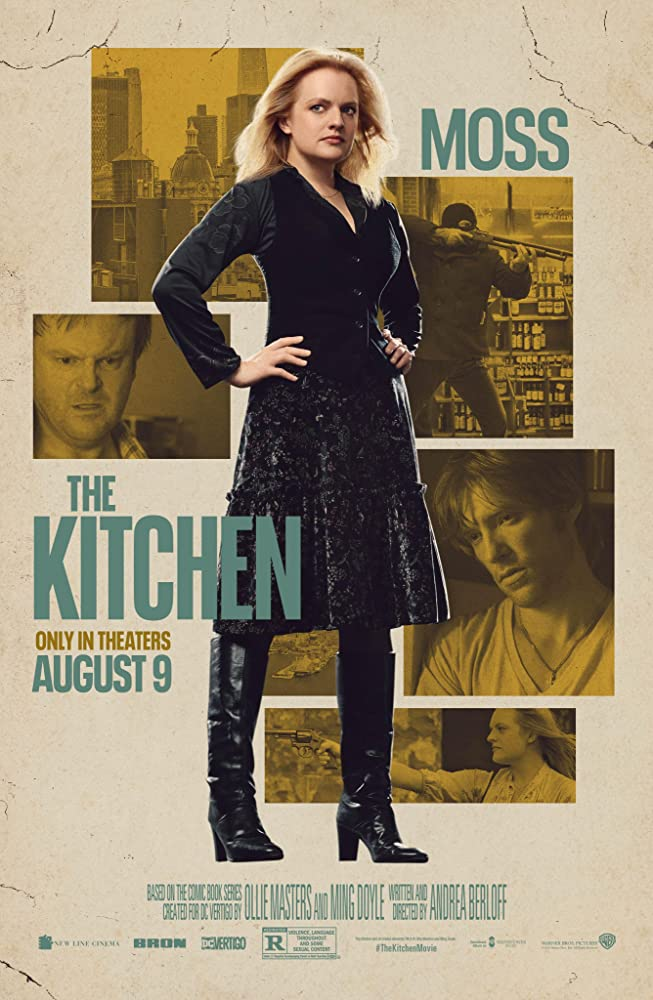 The Kitchen 2019 English 720p HDCAM 900MB | 300MB Download