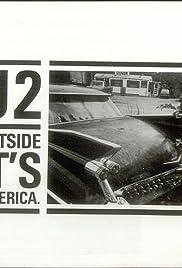 U2: Outside It's America Poster