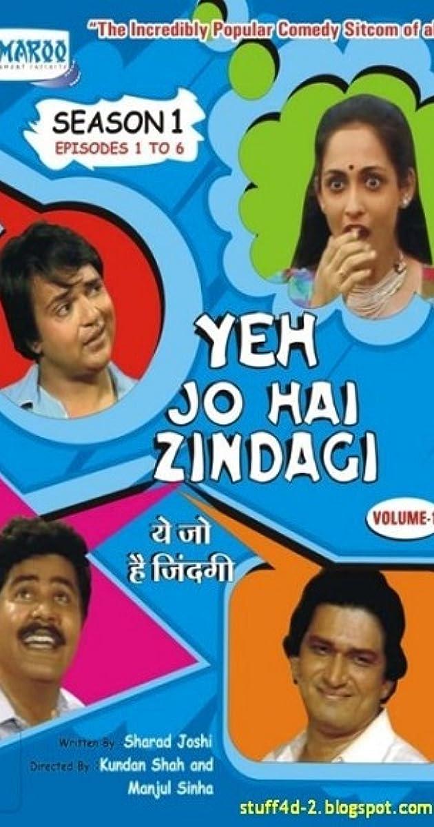 Yeh Jo Hai Zindagi (TV Series 1984– ) - IMDb