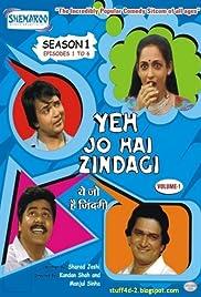 Yeh Jo Hai Zindagi Poster - TV Show Forum, Cast, Reviews
