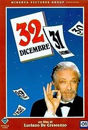 32 dicembre Poster