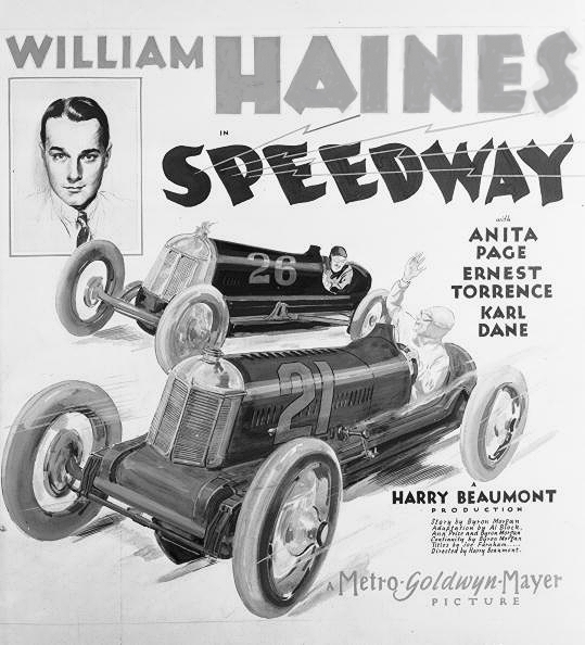 William Haines in Speedway (1929)