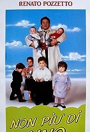 Non più di uno(1990) Poster - Movie Forum, Cast, Reviews
