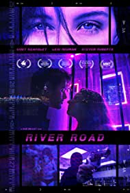 Cody Kearsley, Steven Roberts, Rob Willey, and Lexi Redman in River Road (2021)