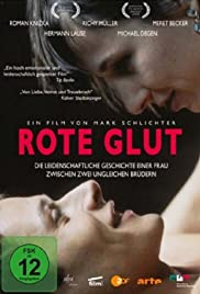 Rote Glut Poster