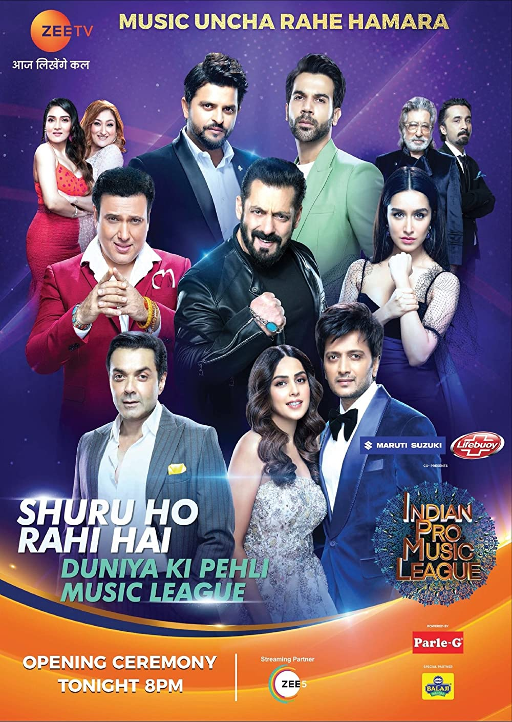 Indian Pro Music League S01 (26th February 2021) Hindi 720p HDRip 900MB | 400MB Download