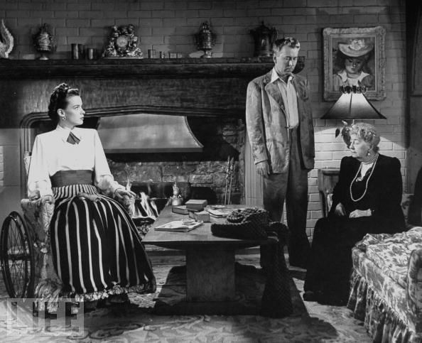 Alexander Knox, Susan Peters, and May Whitty in The Sign of the Ram (1948)