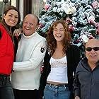 Danny DeVito, Massimo Boldi, Cristiana Capotondi, and Alena Seredova in Christmas in Love (2004)