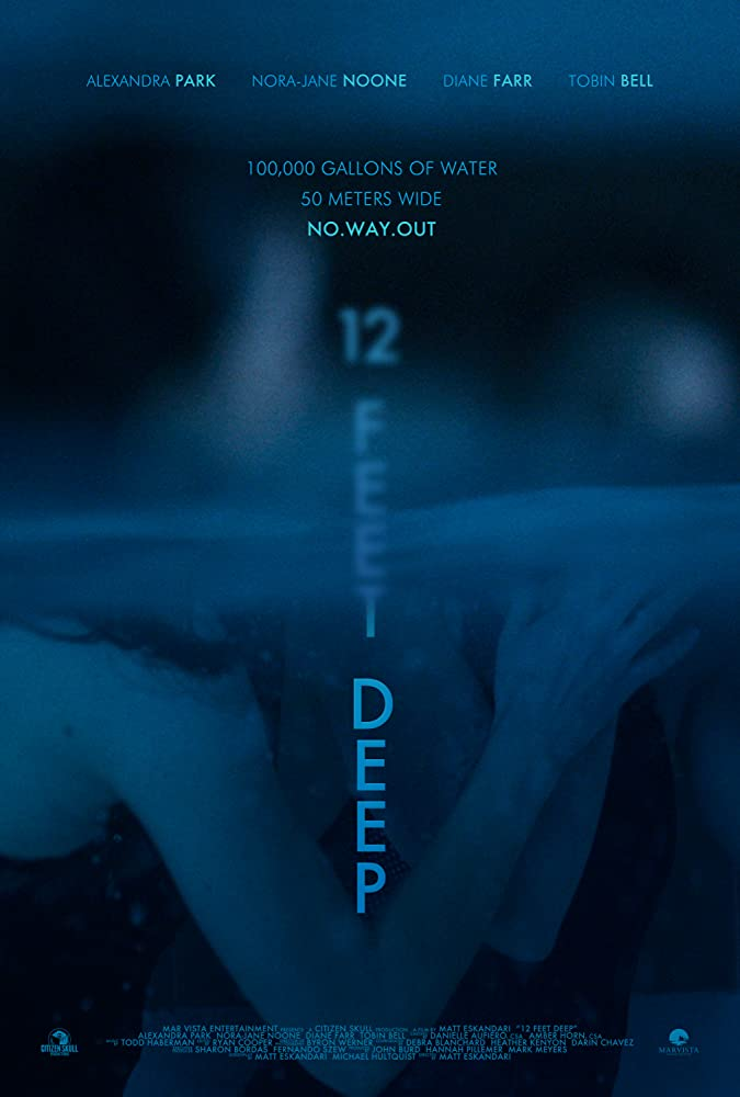 12 Feet Deep (2017) Bluray