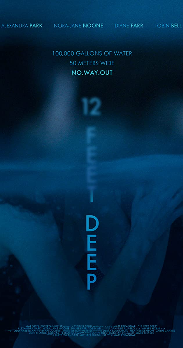 Play or Watch Movies for free 12 Feet Deep (2017)