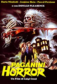 Paganini Horror (1989) Poster - Movie Forum, Cast, Reviews