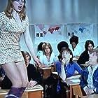 Peter Cleall, Liz Gebhardt, and Carol Hawkins in Please Sir! (1971)