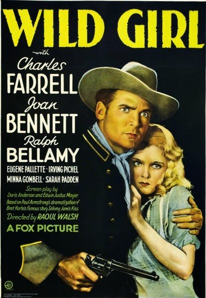 Joan Bennett and Charles Farrell in Wild Girl (1932)