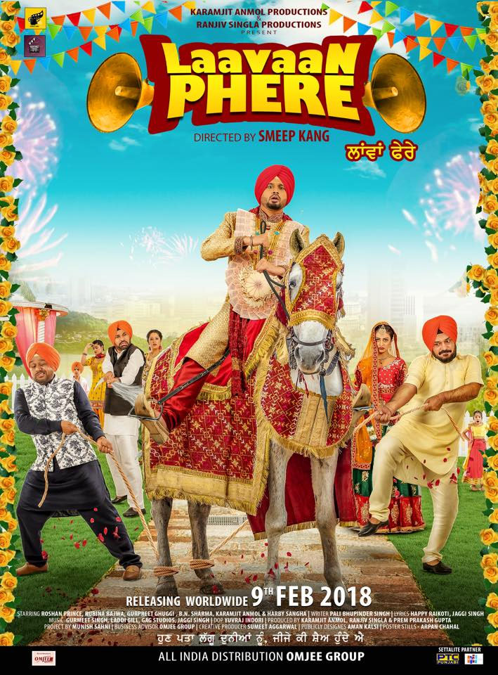 Laavan Phere 2018 Punjabi 402MB WEB-DL Download