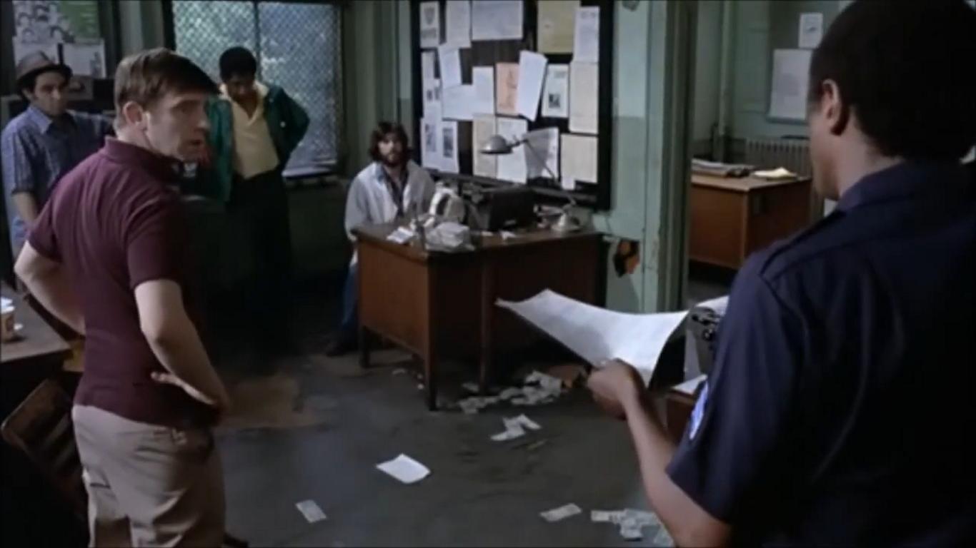 Al Pacino, Nathan George, and Jack Kehoe in Serpico (1973)