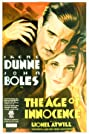 The Age of Innocence (1934) Poster