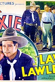 Yakima Canutt, Jack Hoxie, Hilda Moreno, Jack Mower, and Julian Rivero in Law and Lawless (1932)