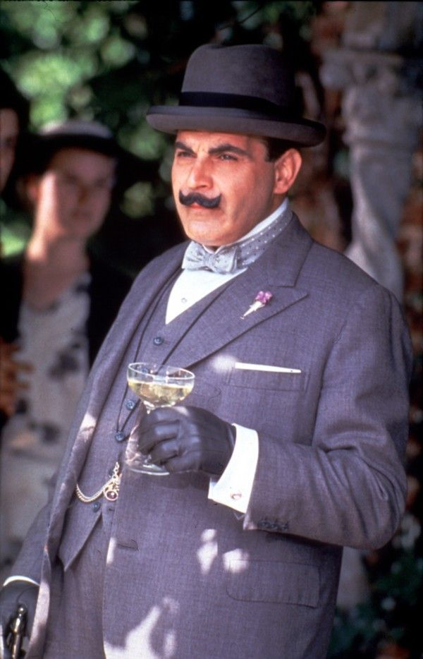 David Suchet in Poirot 1989