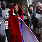 Michael Nardone and Angel Coulby in Merlin (2008)