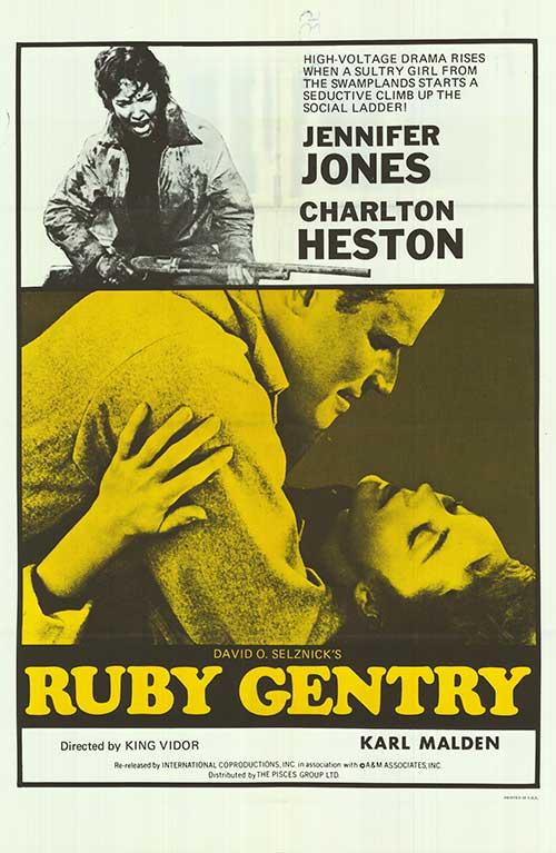 Charlton Heston and Jennifer Jones in Ruby Gentry (1952)