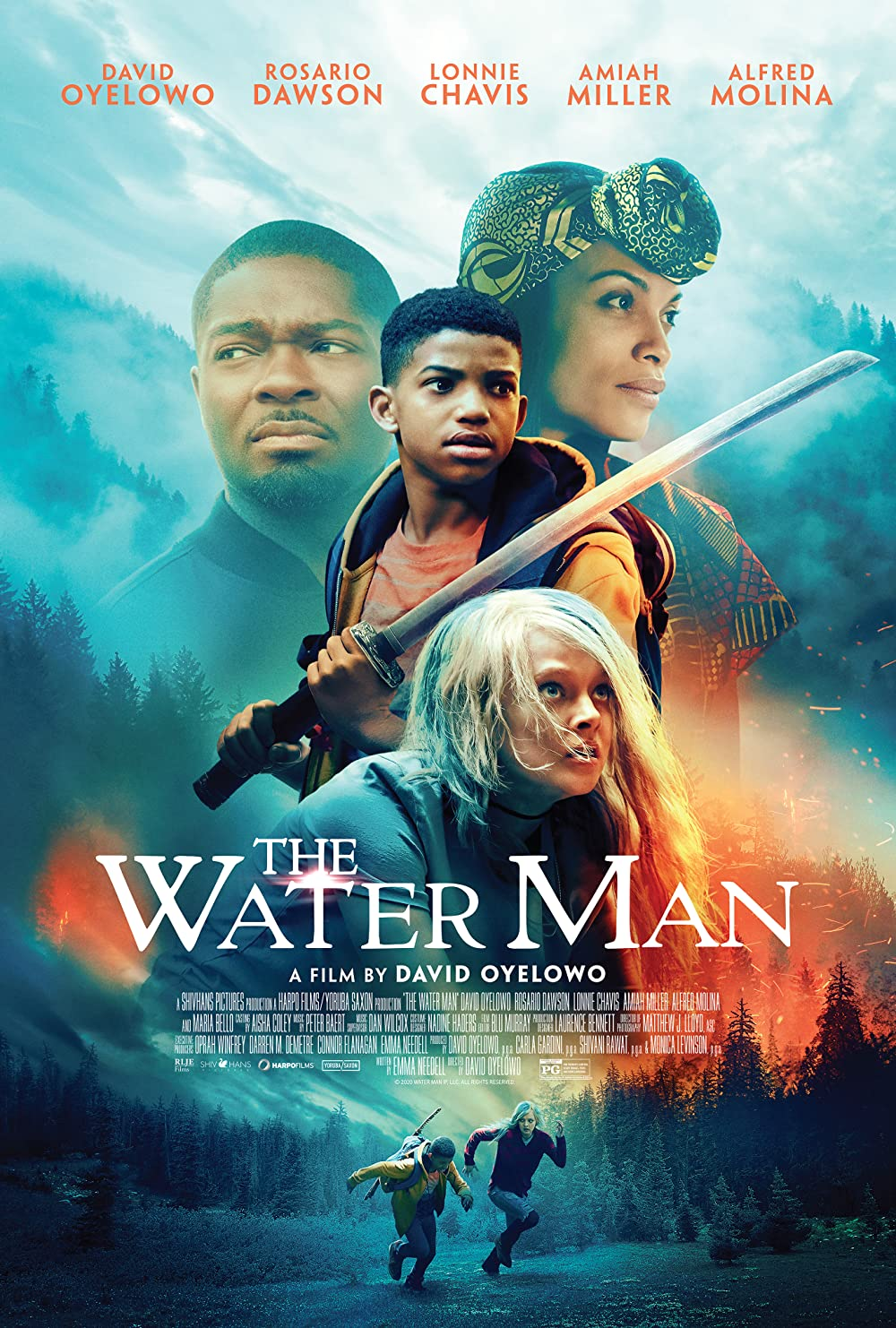 The Water Man 2021 Hindi Dubbed 300MB HDRip 480p Free Download