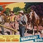 Frank Ellis, John 'Dusty' King, and Max Terhune in Wrangler's Roost (1941)