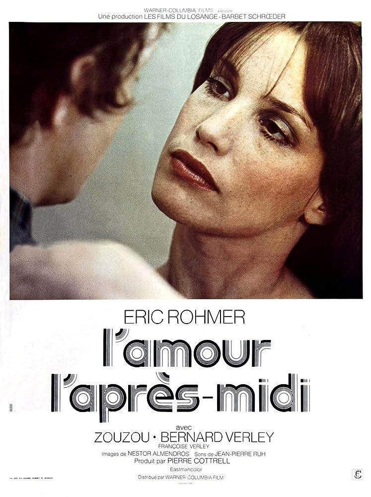 Bernard Verley and Zouzou in L'amour l'après-midi (1972)