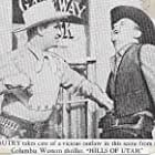 Gene Autry and Denver Pyle in The Hills of Utah (1951)
