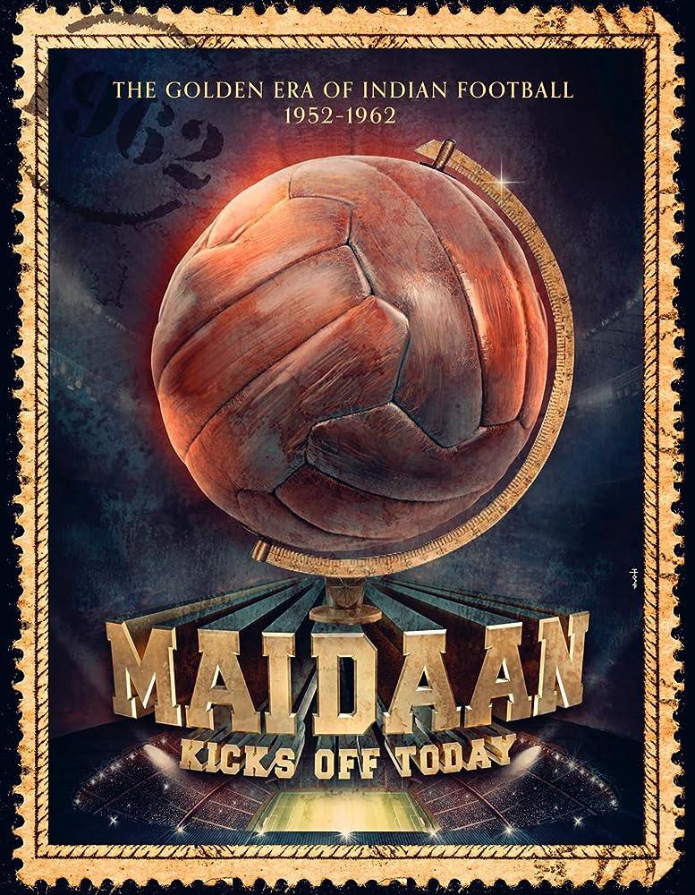 Maidaan (2020) Hindi Movie DVDScr 700MB 720p ESubs at fzmovies4u.com