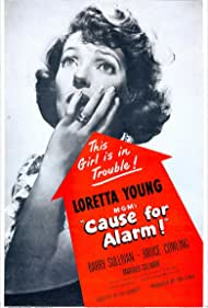 Loretta Young in Cause for Alarm! (1951)