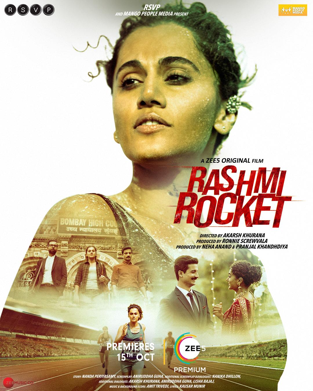 Rashmi Rocket (2021) New Hindi Movie HDRip 720p & 480p Download