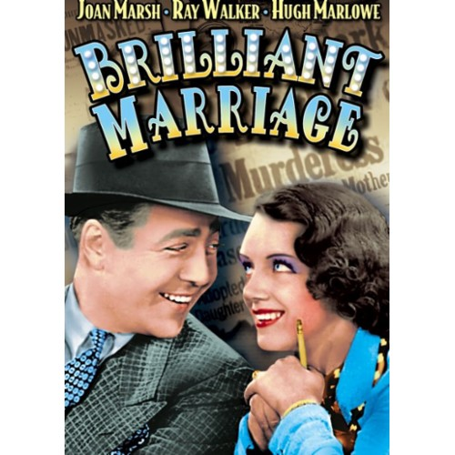 Joan Marsh and Ray Walker in Brilliant Marriage (1936)