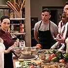 Melissa Joan Hart, Marco Sanchez, and Yvette De Vito in No Good Nick (2019)