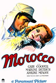 Gary Cooper and Marlene Dietrich in Morocco (1930)