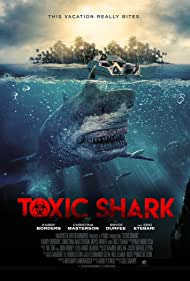 Eric Etebari, Kabby Borders, and Cole Sharpe in Toxic Shark (2017)