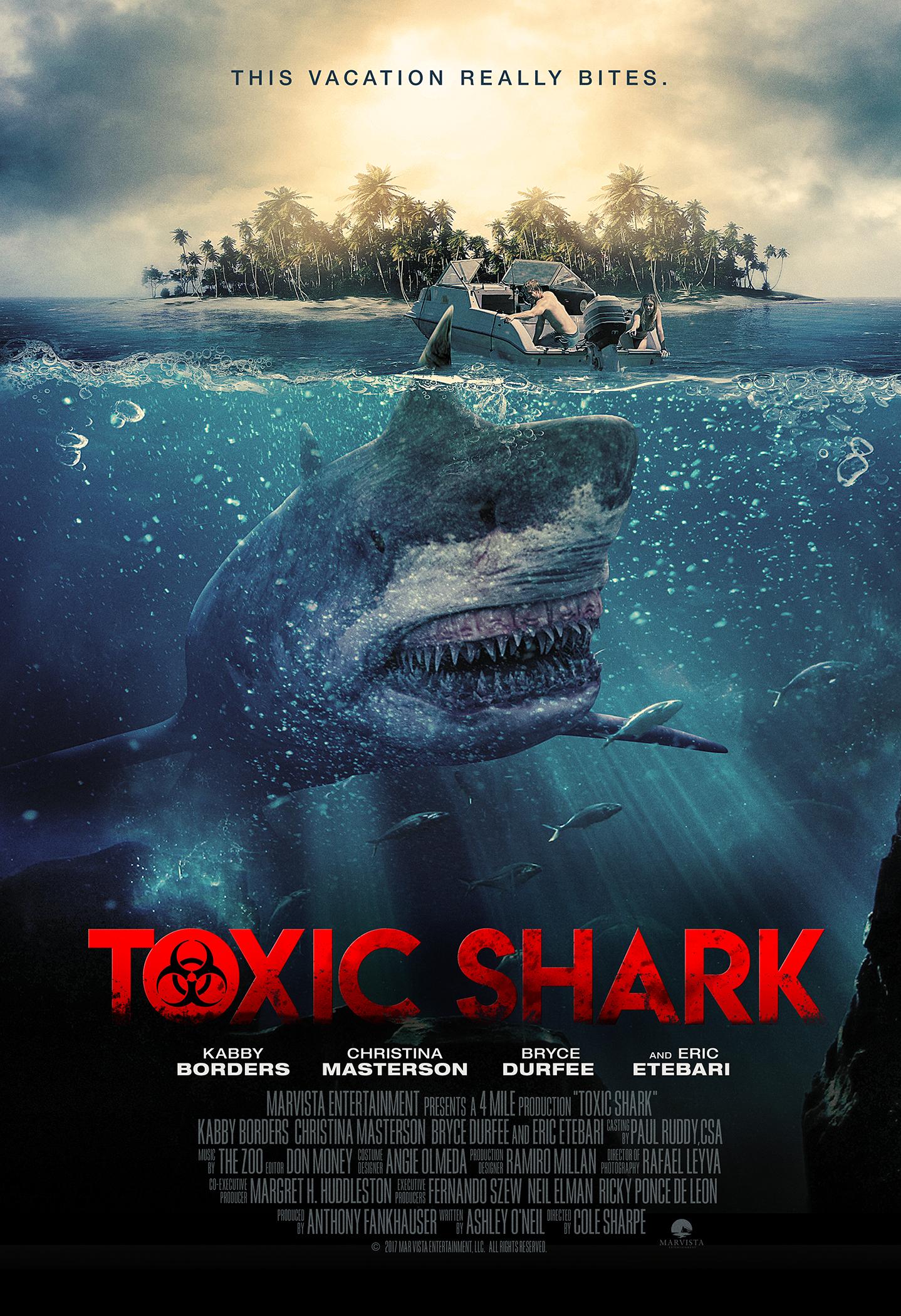 Toxic Shark (2017) WEBRip 720p