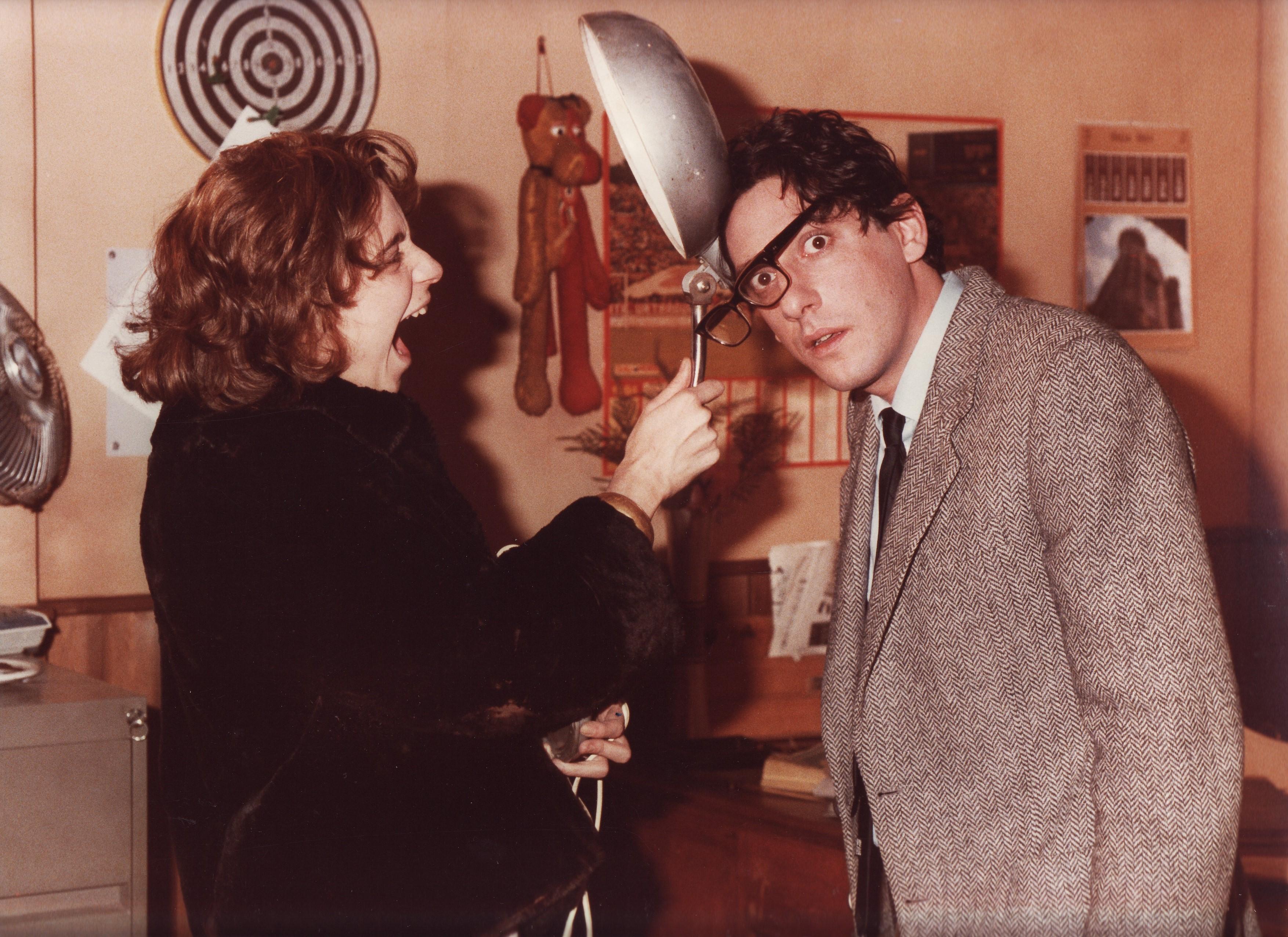 Sergio Castellitto and Monica Rametta in Tu sei differente (1985)