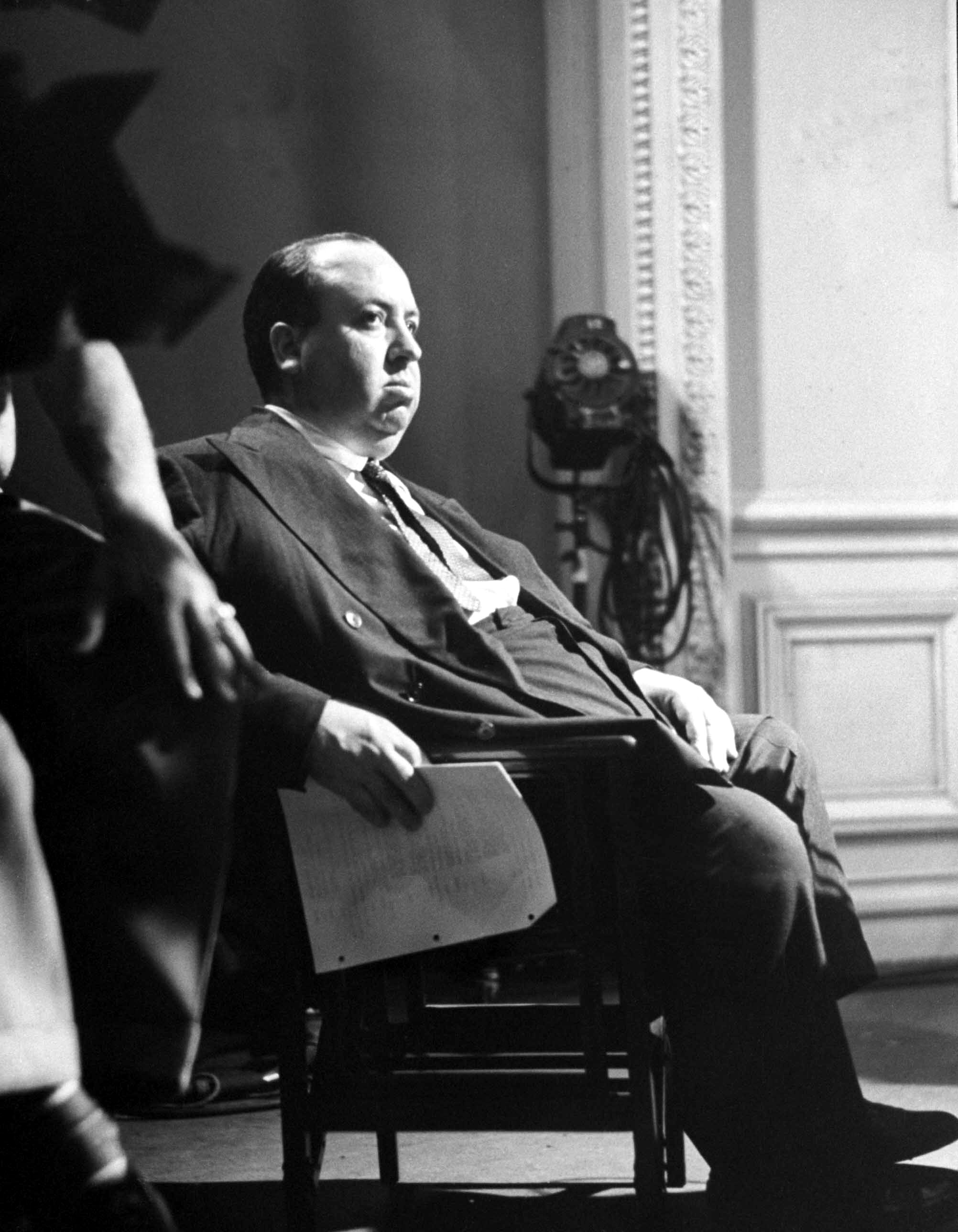 Alfred Hitchcock in Rebecca (1940)